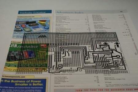 Laser printing to magazine paper