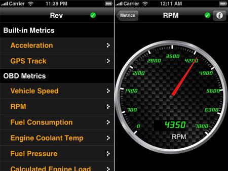 IPhone OBD-II App   Hackaday