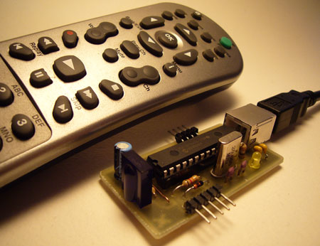 How-to: USB Remote Control Receiver | Hackaday