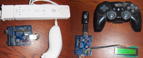 Game Controllers Using USB Host Shield | Hackaday