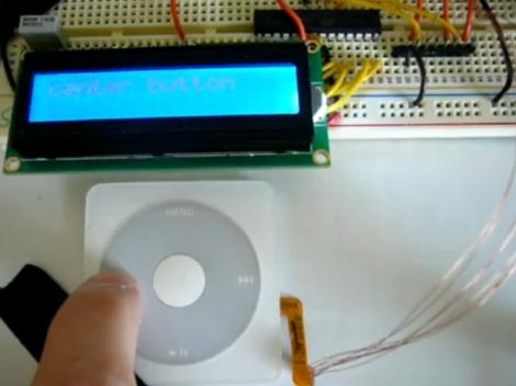 Repurposing A Click Wheel   Hackaday