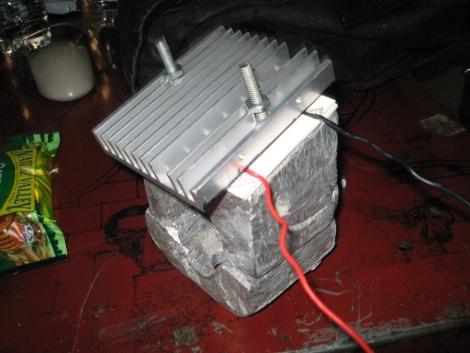 Diy Aluminum Heat Sink Casting Hackaday