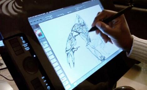 Intense Kit Turns Wacom Tablet Into Cintiq Clone | Hackaday