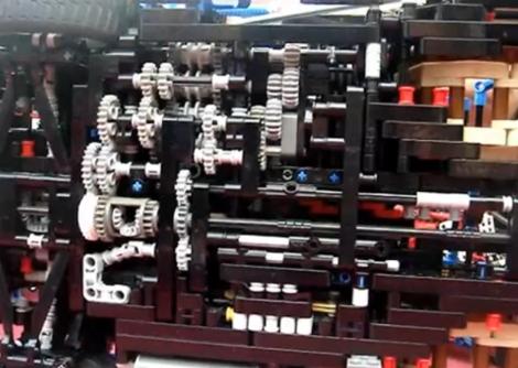 LEGO Gearbox – Seven Speed Plus Reverse | Hackaday