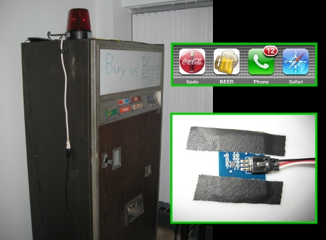 Old School Vending Machine Learns New Tricks | Hackaday