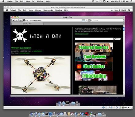 VirtualBox Beta Runs Mac OS X   Hackaday