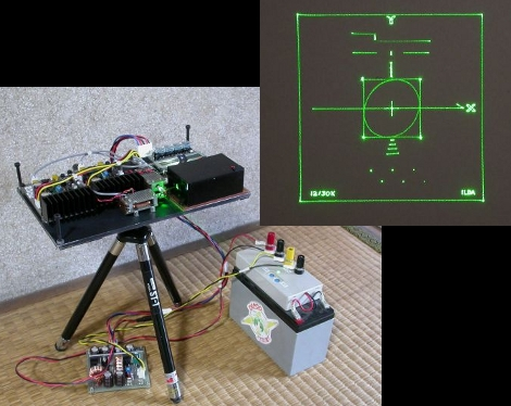 Another Home-built Laser Projector