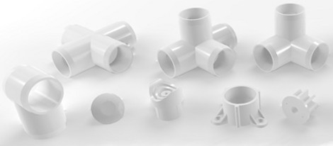 PVC Pipe Fittings Just For Building Stuff | Hackaday