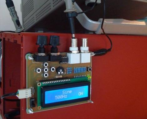 AVR DDS Signal Generator Improvements | Hackaday