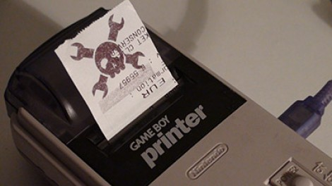 Game Boy Printer USB Cable And Software | Hackaday