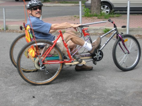 Building A Recumbent Trike From Old Parts | Hackaday