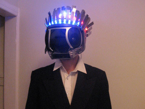 Halloween Props: Voice-changing Daft Punk Costume | Hackaday