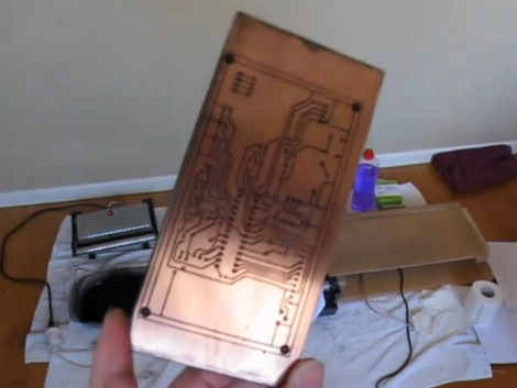 Direct To PCB Inkjet Printing | Hackaday