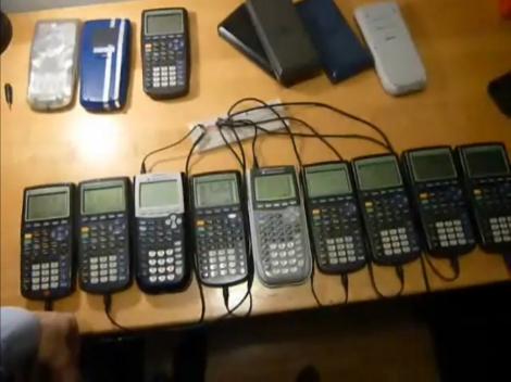 Peer Network Using Graphing Calculators | Hackaday