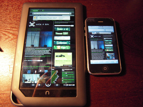 Nook Color Rooted: Hands On | Hackaday