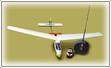 RC Plane Built Using Pieces Of An RC Car | Hackaday