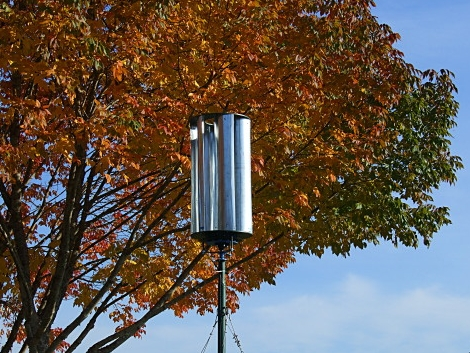 Build Your Own Vertical Axis Wind Turbine | Hackaday