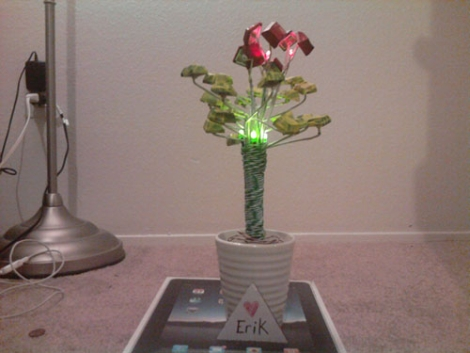 led_flower_bunch