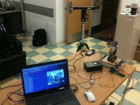 Advanced Robotic Arm Control Using Kinect | Hackaday