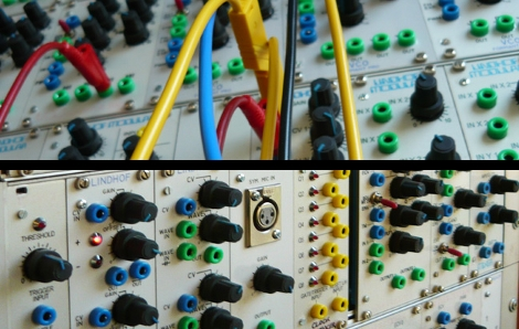 modular synthesizer is rack mounted and reconfigurable hackaday. Black Bedroom Furniture Sets. Home Design Ideas