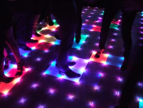 Disco Isn T Dead Diy Dance Floor Spotted At Student Parties