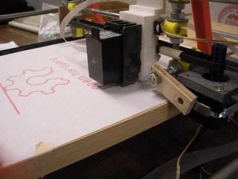 DIY Inkjet Printer Begs To Be Hacked   Hackaday