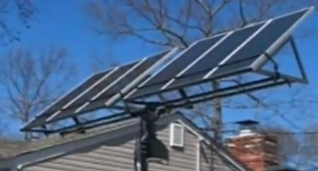 A Simple DIY Solar Tracker | Hackaday