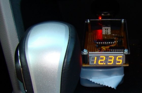 Automotive Battery Voltage Monitor Hackaday