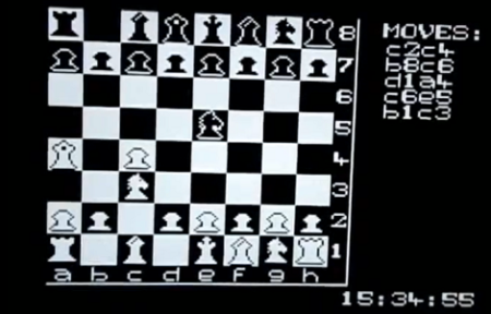 Playing Chess On A Microcontroller | Hackaday