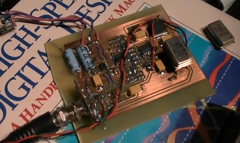 Jeri Ellsworth] Builds A Software Radio | Hackaday
