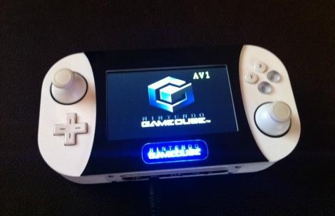 Sleek, Disc-less GameCube Handheld | Hackaday