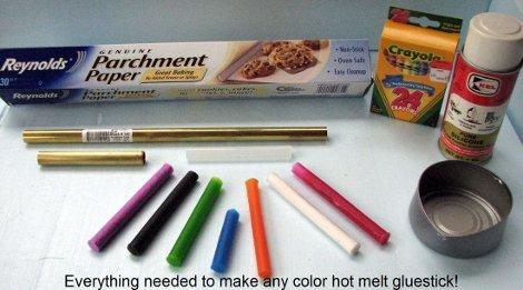 Make Your Own Custom Hot Glue Sticks   Hackaday