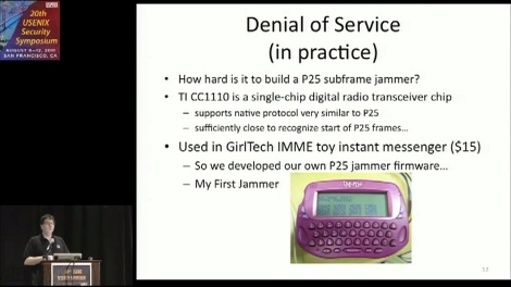 Project 25 Digital Radios (law Enforcement Grade) Vulnerable