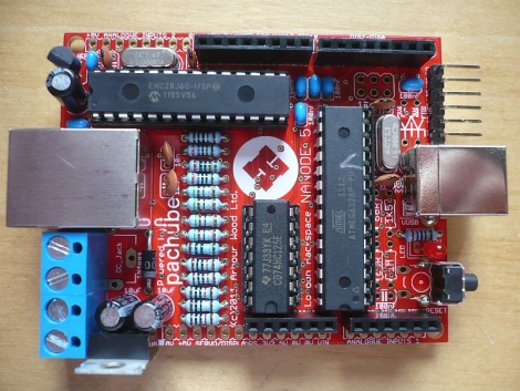 Nanode: A Low-cost Network-enabled Arduino Ethernet