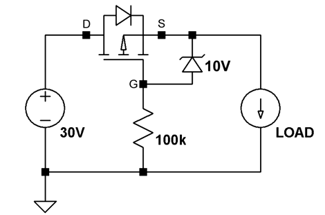 Reverse Voltage Protection With A P Fet Hackaday