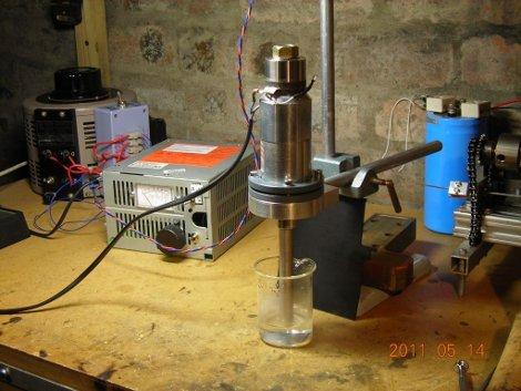 Powering An Ultrasonic Transducer | Hackaday