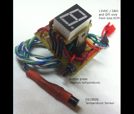 Suzuki V-Strom Current Gear Indicator | Hackaday