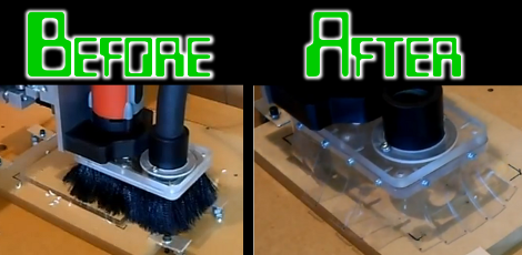 A Better Dust Skirt For Your CNC Mill | Hackaday