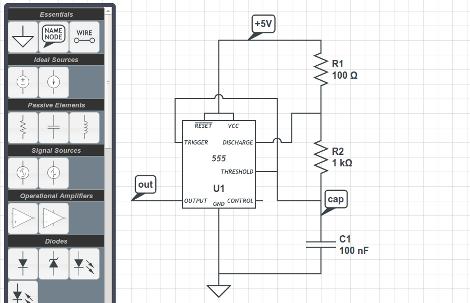 browser based circuit simulator boasts a mountain of features hackadayJava Based Circuit Simulator Http Wwwfalstadcom Circuit #10