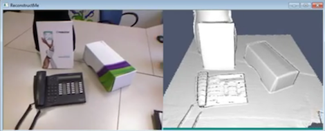 Very Easy 3D Scanning Software With ReconstructMe | Hackaday
