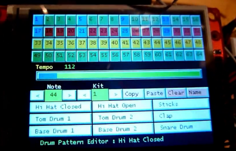 Arduino MIDI Sequencer Displays A Lot Of Data | Hackaday