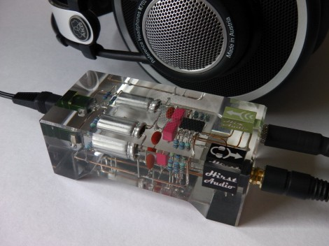 Resin encased electronics