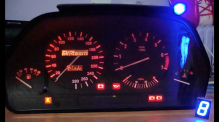 Real BMW Dash Cluster For Your Racing Games | Hackaday