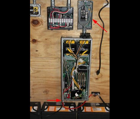UPS With Dead Batteries Reborn As A Whole-house Power Backup | Hackaday