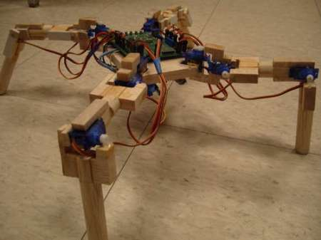 Arduino-Based-Four-Legged-Robot
