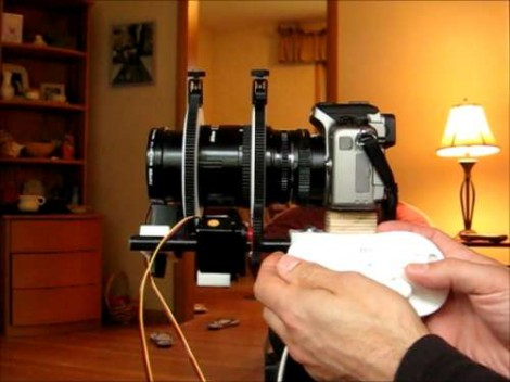 Converting A Manual Camera Lens To Use Motorized Zoom And Focus