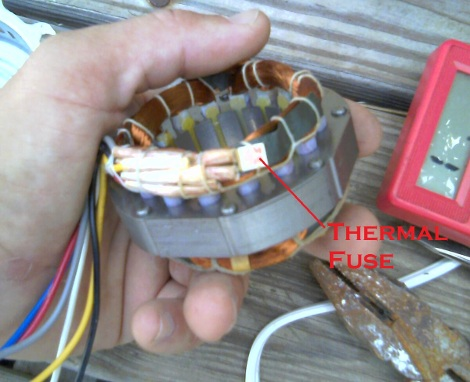 rebuilding a fried fan motor hackaday 2 Speed Fan Motor Wiring