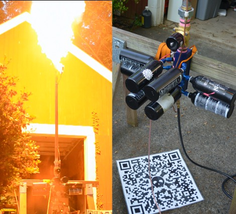 I Build Stuff Too! Fire Cannon Edition | Hackaday