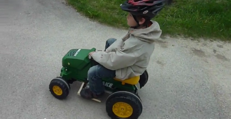 Turning A Pedal-powered Tractor Into A Power Wheels   Hackaday