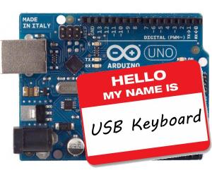 Turning An Arduino Into A USB Keyboard | Hackaday